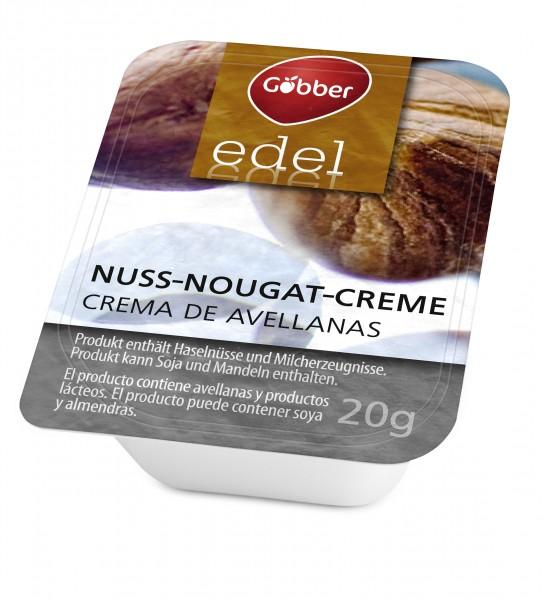 Göbber Nuss-Nougat-Creme 100 x 20g Portionen | CaterPoint.de