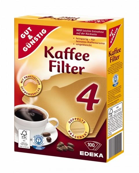 Kaffeefilter Gr. 4 100Stück