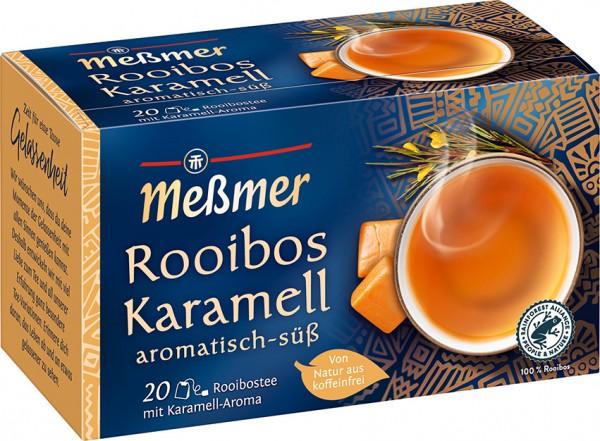 Meßmer Rooibos Karamell 20 x 2,0g Tassenportion
