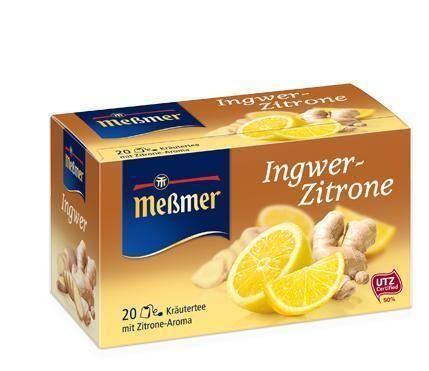 MESSMER Ingwer-Zitrone 20x2g