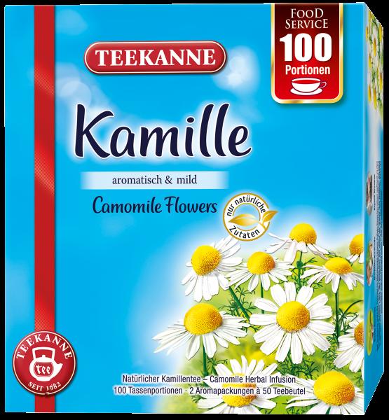 Teekanne Kamille 100 Tassenportionen