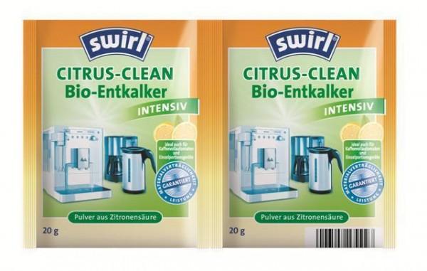 Swirl Citrus Clean Bio Schnellentkalker 2 x 20g