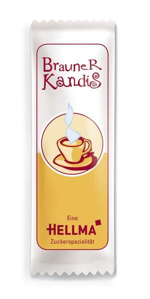 Hellma Kandis braun 1000 x 6g im Karton   CaterPoint.de