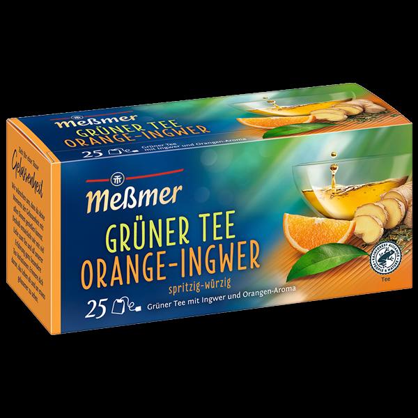 Meßmer Grüner Tee Orange-Ingwer 25 x 1.75g | CaterPoint.de