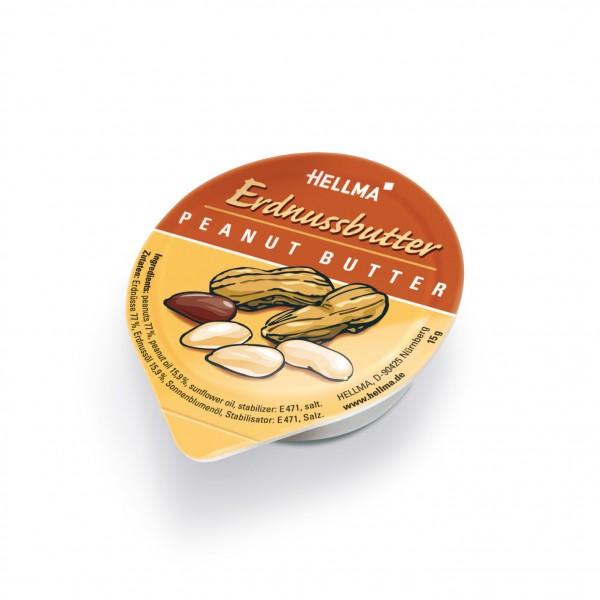 Hellma Erdnussbutter 80 x 15g Portionen | CaterPoint.de