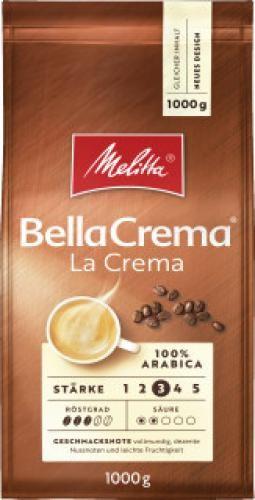 Melitta BellaCrema LaCrema 1000 g, Ganze Bohne | CaterPoint.de