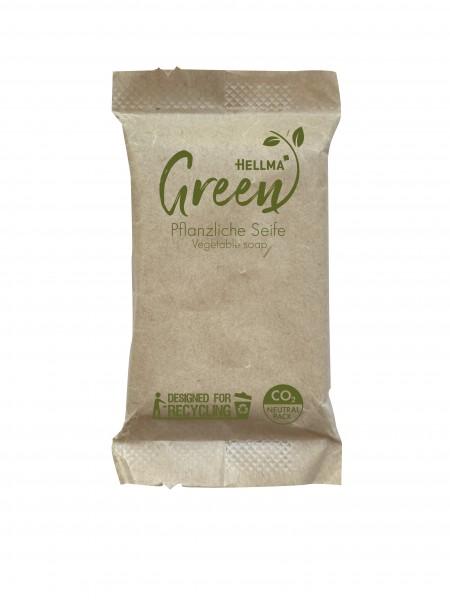 Hellma Green Pflanzliche Seife 12g Portion