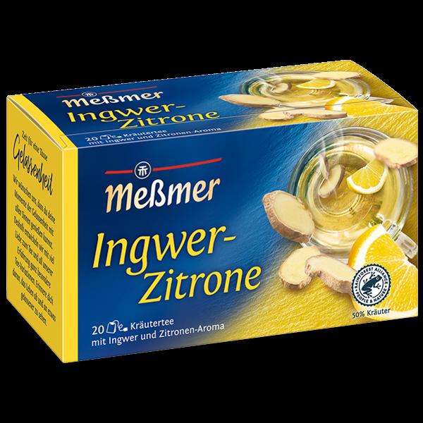 MESSMER Ingwer-Zitrone 20x2g | Caterpoint.de