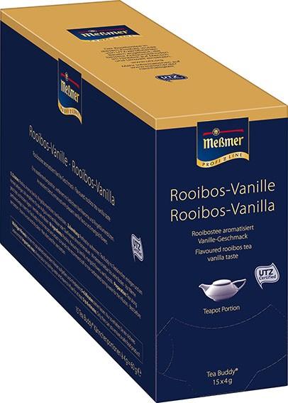 Meßmer Tea Buddy Rooibos Vanille 15 x 4,0g | CaterPoint.de