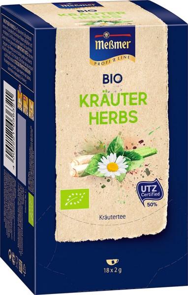 MEßMER ProfiLine Bio Kräuter 18x2,00g  | CaterPoint.de