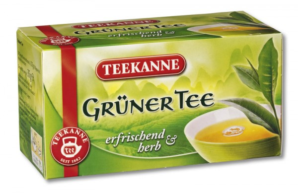 TEEKANNE Grüner Tee 20 x 1,75g Tassenportion
