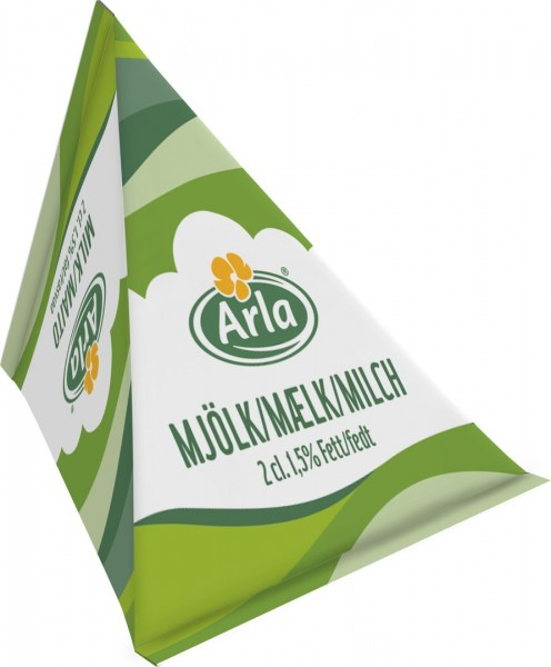 Arla Milch-Portion 1,5% 100x20ml