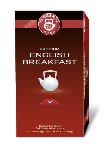 Teekanne Gastro Premium English Breakfast 20 x 1,75g | CaterPoint.de