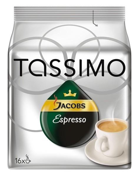 5 x Jacobs Tassimo Espresso 16 x 1 Stück