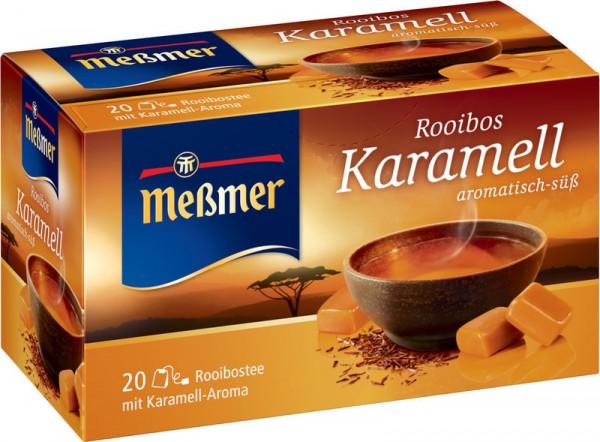 Meßmer Rooibos Karamell 20 x 2,0g Tassenportion | CaterPoint.de