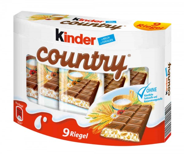 Kinder Country 9er Pack
