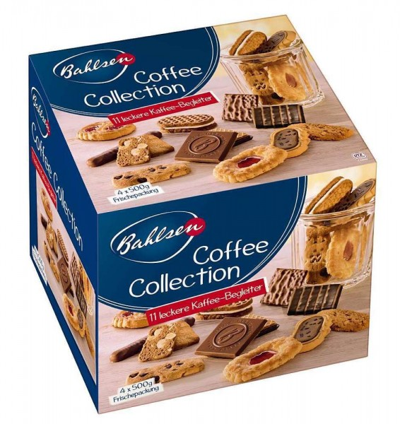 Bahlsen Coffee Collection Gebäckmischung 2000g