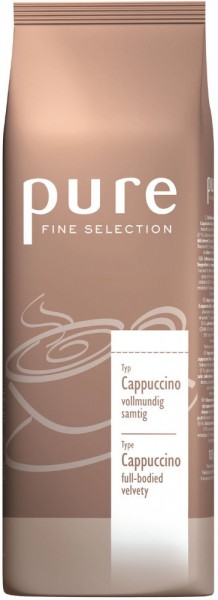 PURE Fine Selection Typ Cappuccino 1000g Beutel