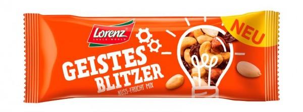 Lorenz Nuss-Frucht Mix Geistesblitzer 28 x 40g   CaterPoint.de