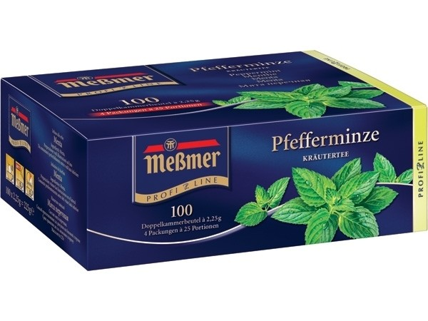 Meßmer Pfefferminze 100 x 2,25g Tassenportion