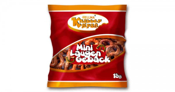 HELLMA Mini Laugengebäck 70x15g | CaterPoint.de