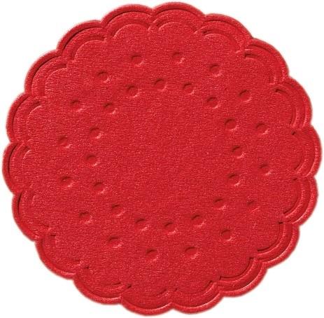 Duni Tassendeckchen rot - 250 Stück