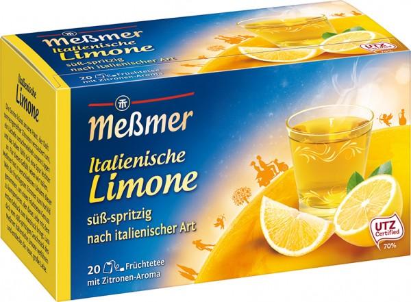 Meßmer Italienische Limone 20 x 2,5g Tassenportion