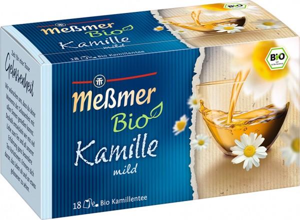 Meßmer BIO Kamille 18 x 1,5g Tassenportion | CaterPoint.de