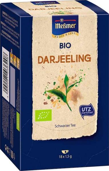 MEßMER ProfiLine Bio Darjeeling 18x1,50g | CaterPoint.de