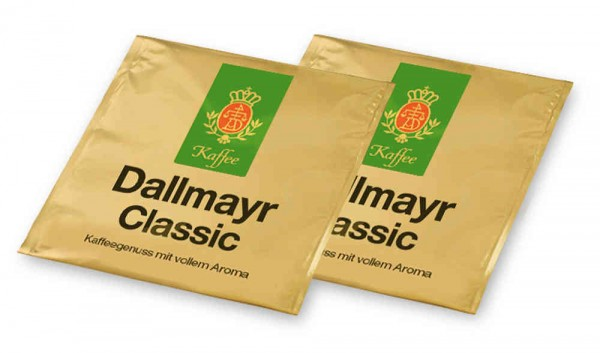 Dallmayr Classic Pad 100er Beutel