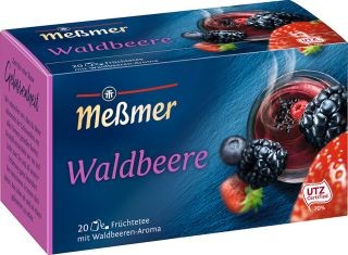 Meßmer Waldbeere 20 x 2,5g Tassenportion | CaterPoint.de