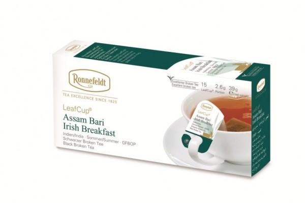 Ronnefeldt LeafCup® Assam Bari Irish Breakfast 15 x 2,6g | CaterPoint.de