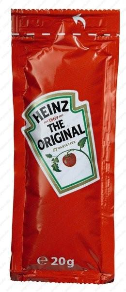 Heinz Tomatenketchup 100 x 20g