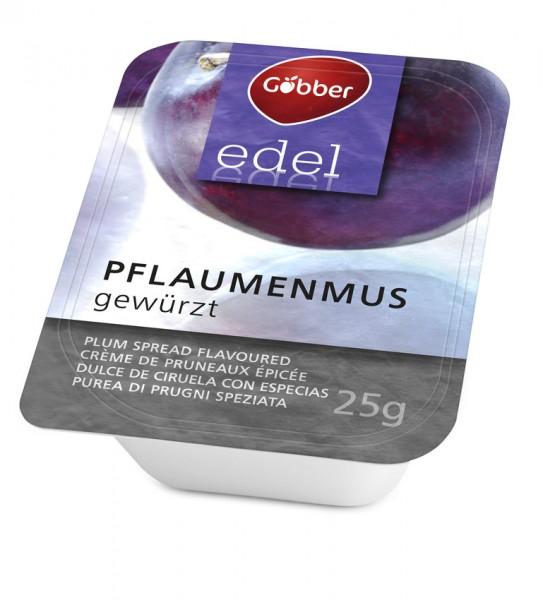 Göbber Edel Pflaumenmus 100 x 25g Portion | CaterPoint.de