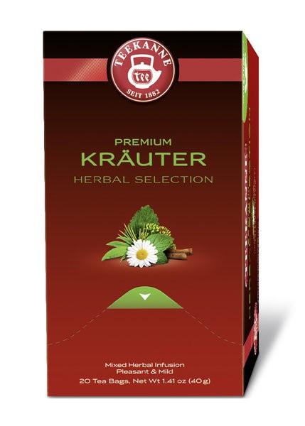 Teekanne Gastro Premium Kräuter 20 x 2,0g