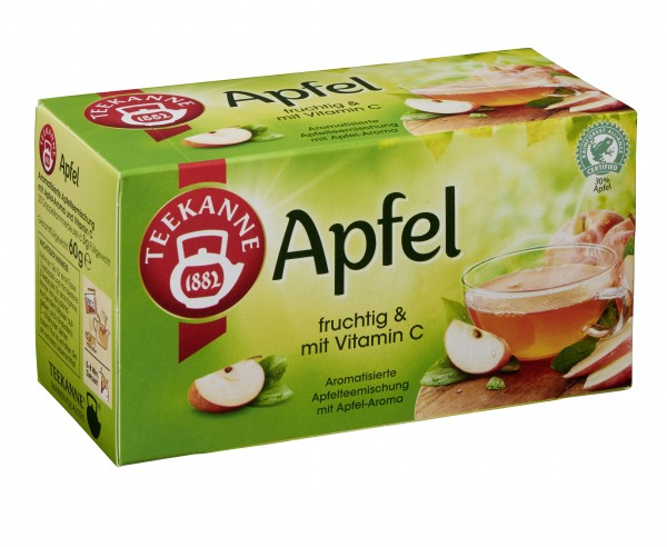 Teekanne Apfel 20 x 3,0g Tassenportion | CaterPoint.de