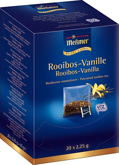 MEßMER ProfiLine Kissen - Rooibos Vanille 20 x 2,25g | CaterPoint.de