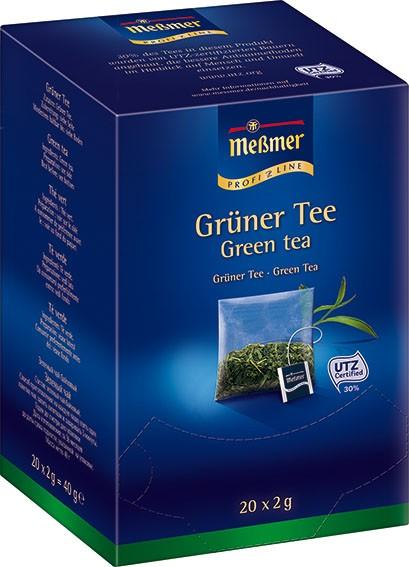 MEßMER ProfiLine Kissen Grüner Tee 20x2,00g | CaterPoint.de