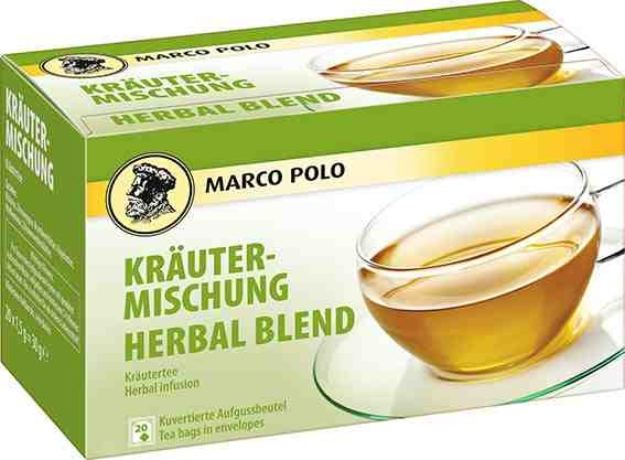 MARCO POLO Kräutermischung 20 x 1,5g Tassenportion | CaterPoint.de