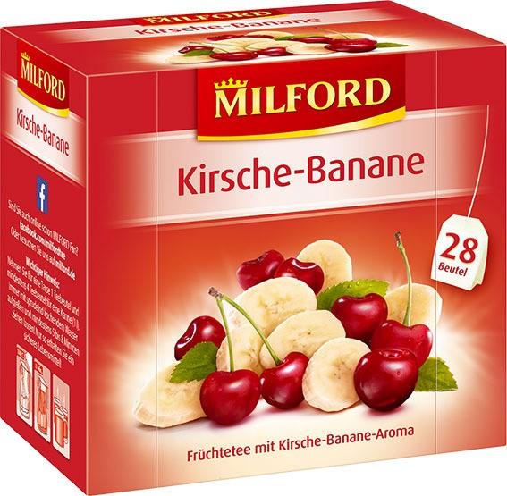 Milford Kirsch-Banane 6x28x2,25g Tassenportion | CaterPoint.de
