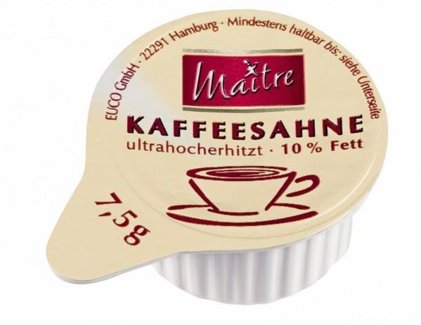 Maitre Kaffeesahne 10% 240 x 7,5g