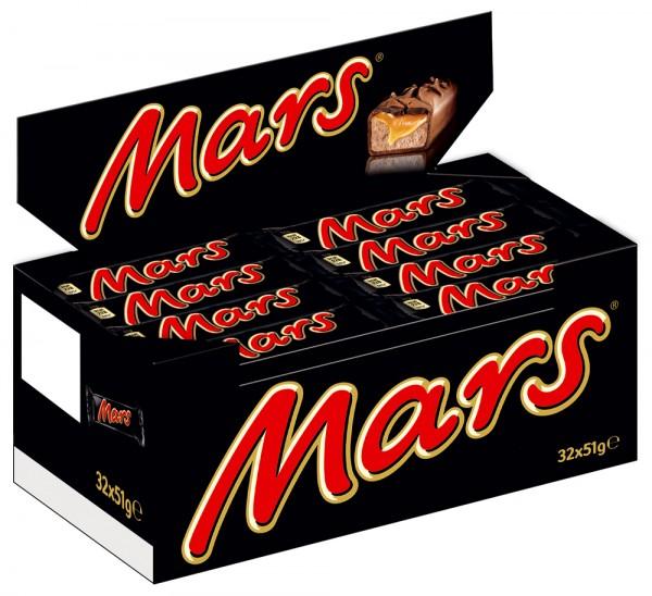 MARS® 32 x 51g Thekendisplay