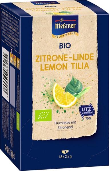 MEßMER ProfiLine Bio Zitrone-Linde 18x2,50g  | CaterPoint.de