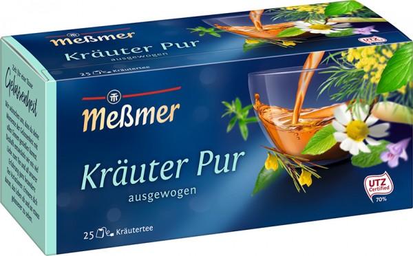 Meßmer Kräuter Pur 25 x 2,0g Tassenportion | CaterPoint.de