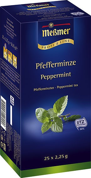 Messmer ProfiLine Pfefferminze 25 x 2,25g | CaterPoint.de