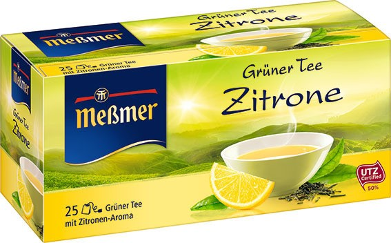 Meßmer Grüner Tee Zitrone 25 x 1,75g
