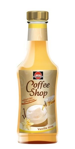 Schwartau Coffee Shop Vanille Sirup 200ml Flasche