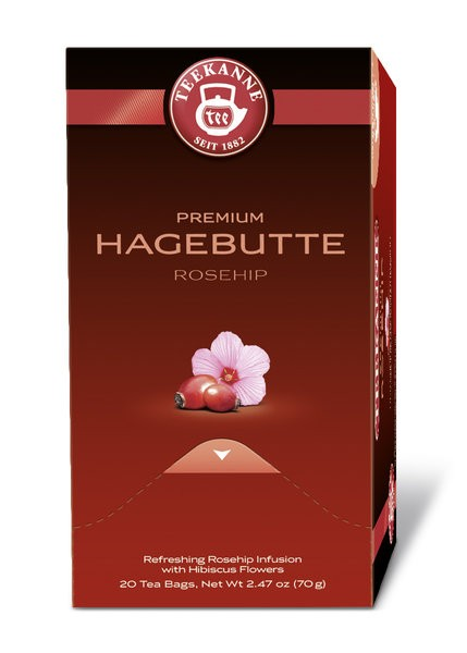 Teekanne Gastro Premium Hagebutte 20 x 3,5g | CaterPoint.de