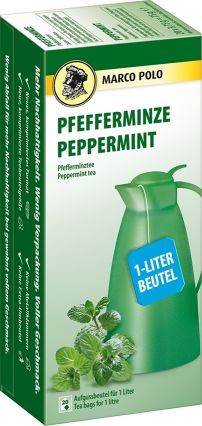 MARCO POLO Pfefferminze 20x3,75g (1-Liter) | CaterPoint.de