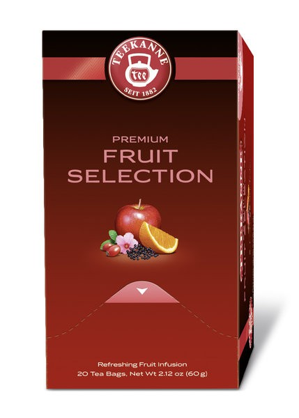 Teekanne Gastro Premium Fruit Selection 20 x 3,0g | CaterPoint.de